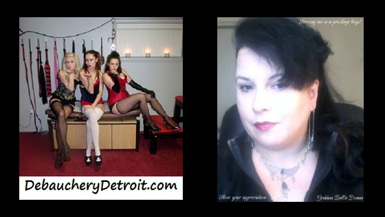 Debauchery Detroit and Goddess Bella Donna