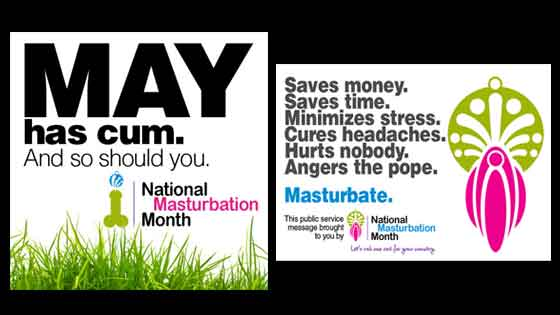 May is National Masturbation Month